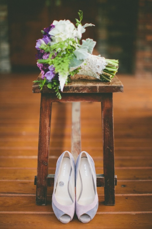 flower and shoes