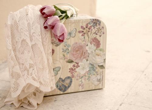 vintage flowery