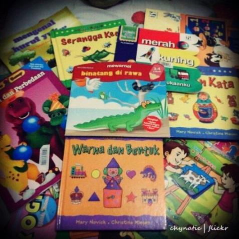 kidz' books..