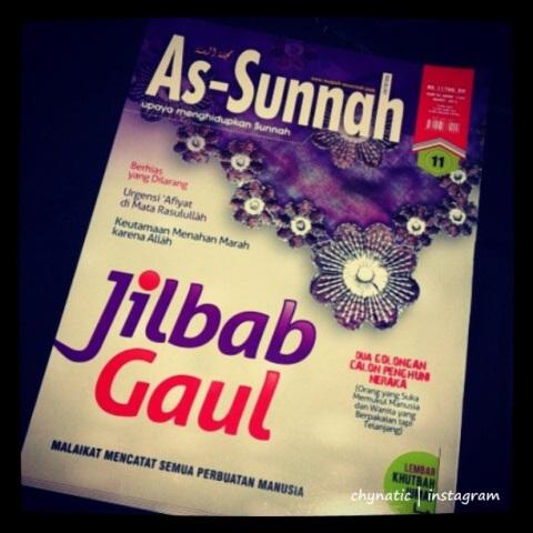 majalah as sunnah - jilbab gaul dalam timbangan syariat..