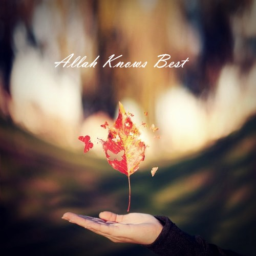 Allah knows best..