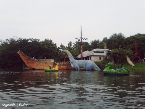 danau fantasy island..