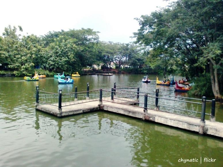 Reportase Fantasy Island Kampung Cina Kota Wisata Cibubur tidak beroperasi lagi