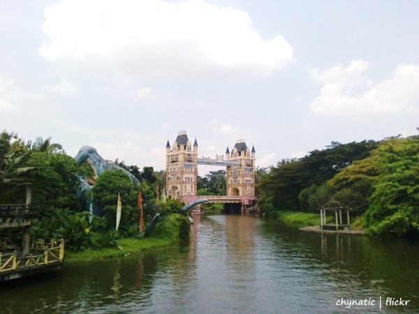 fantasy island kota wisata