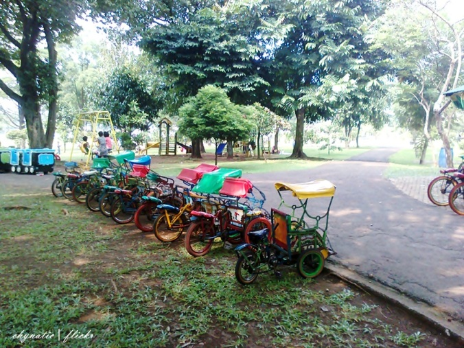 becak mini..