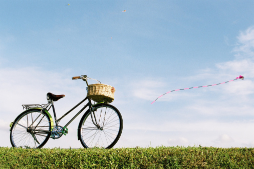 bike and kite