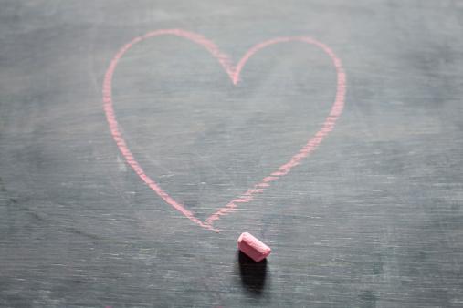 chalk heart..
