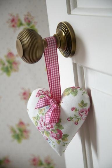 vintage heart handmade