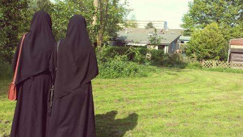 two hijabis