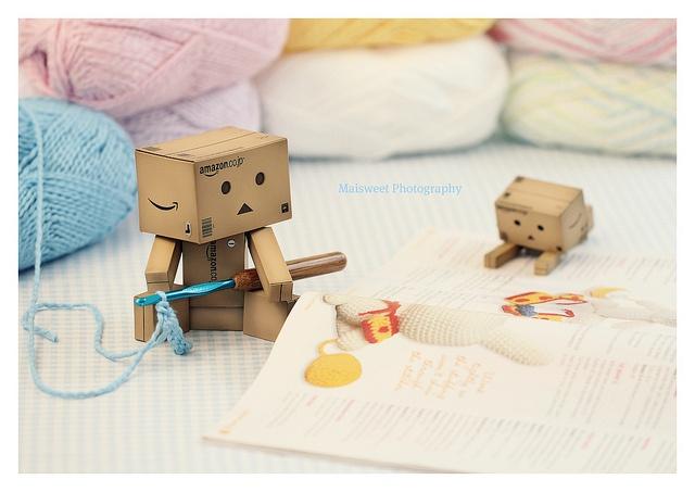 danbo knitting