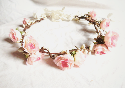 head band flowers