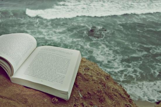 books and sea