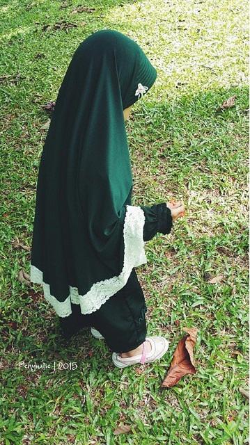 aisyafra with jilbab anak zafra