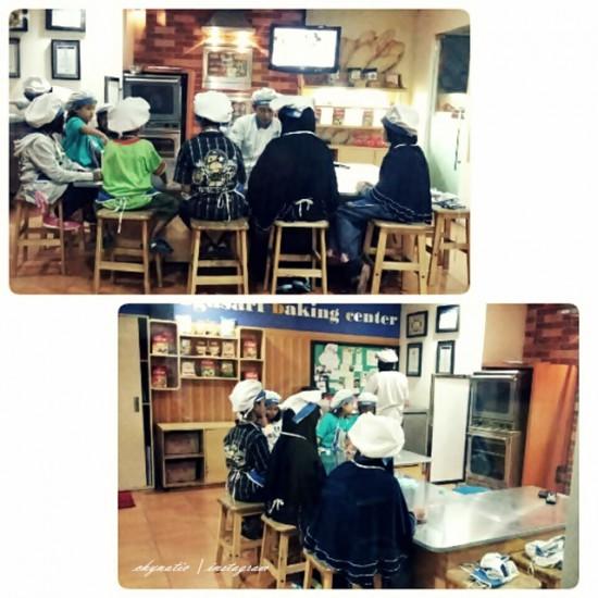 baking class at kidzania