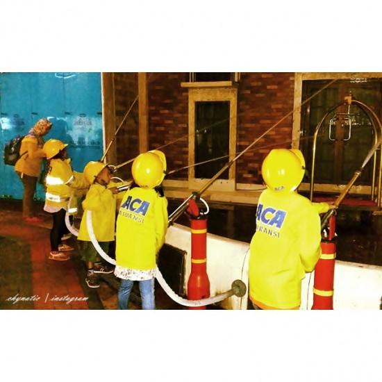 firemen at kidzania