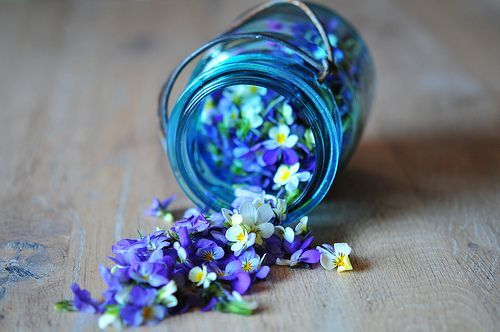 lovely violet jar