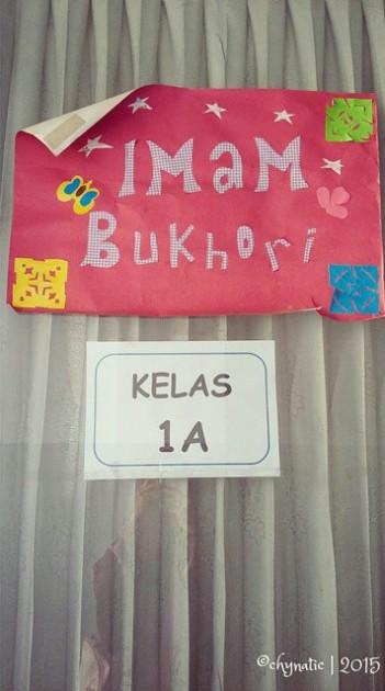 harits classroom door