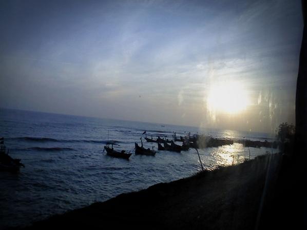 sunrise at pantura jawa