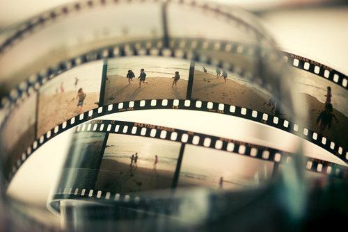 negative film vintage