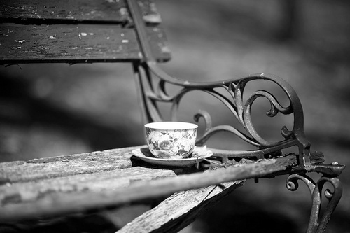 cup in BW