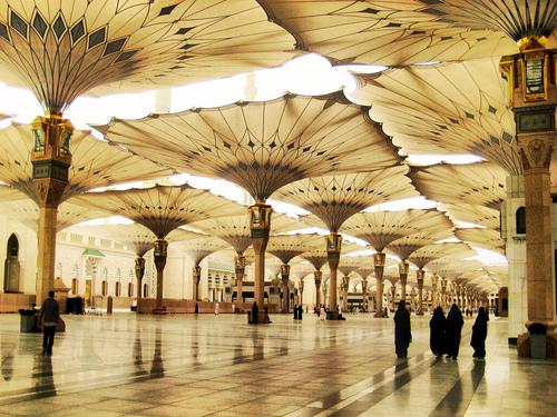 niqabi in masjid nabawi