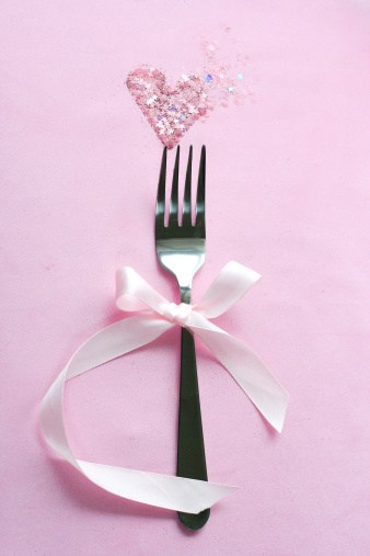 fork-heart ribbon