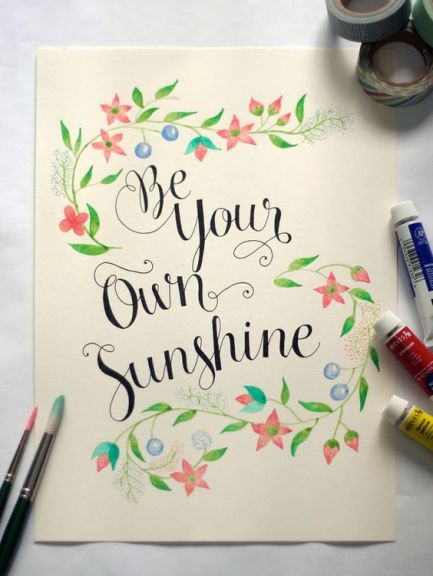 be-ur-own-sunshine